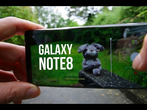 Samsung Galaxy Note 8: Unboxed and Creative review!