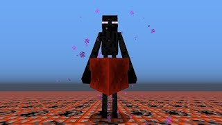 Suicidal Endermen in Minecraft