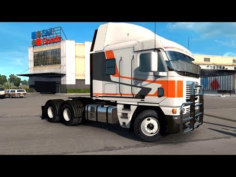 American Truck Simulator New Mexico DLC - Las Cruces Flour Transport