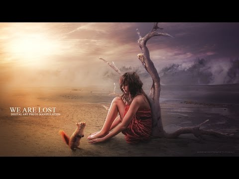 "Create This ""We Are Lost"" Photo Manipulation In Photoshop"