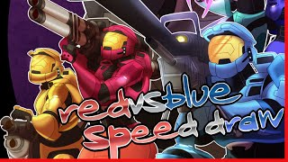 Speed Draw - Red VS Blue