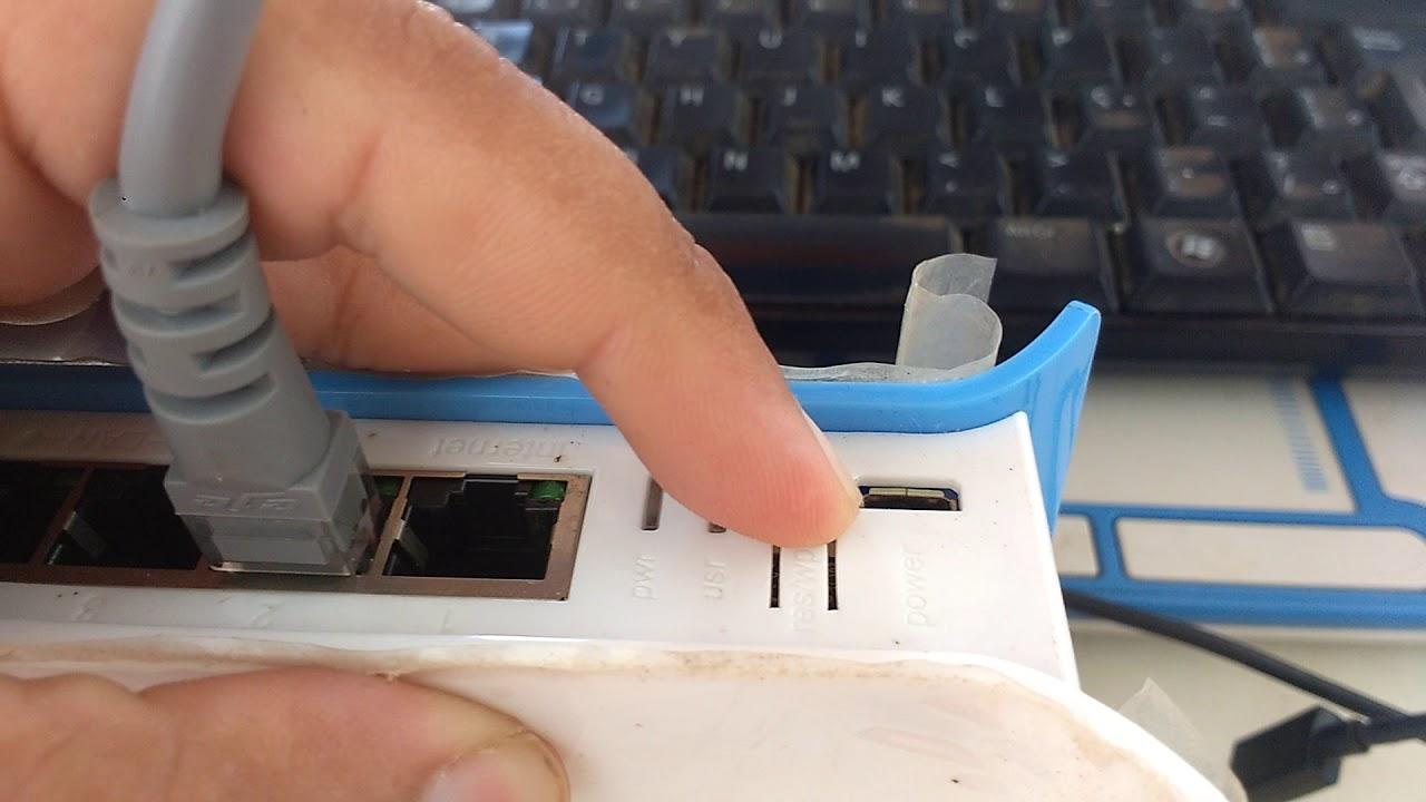 Como Resetar o Hap Lite da Mikrotik