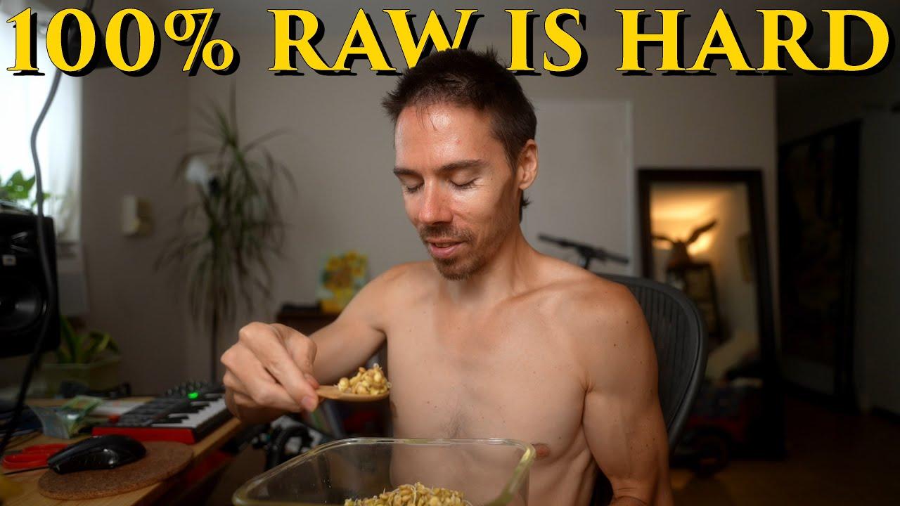Raw Vegan Diet is HARD! These Vegan Foods Are Saving Me