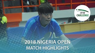 Wang Xinyan vs Egede Olanrewaju | 2018 Nigeria Open Highlights (Group)