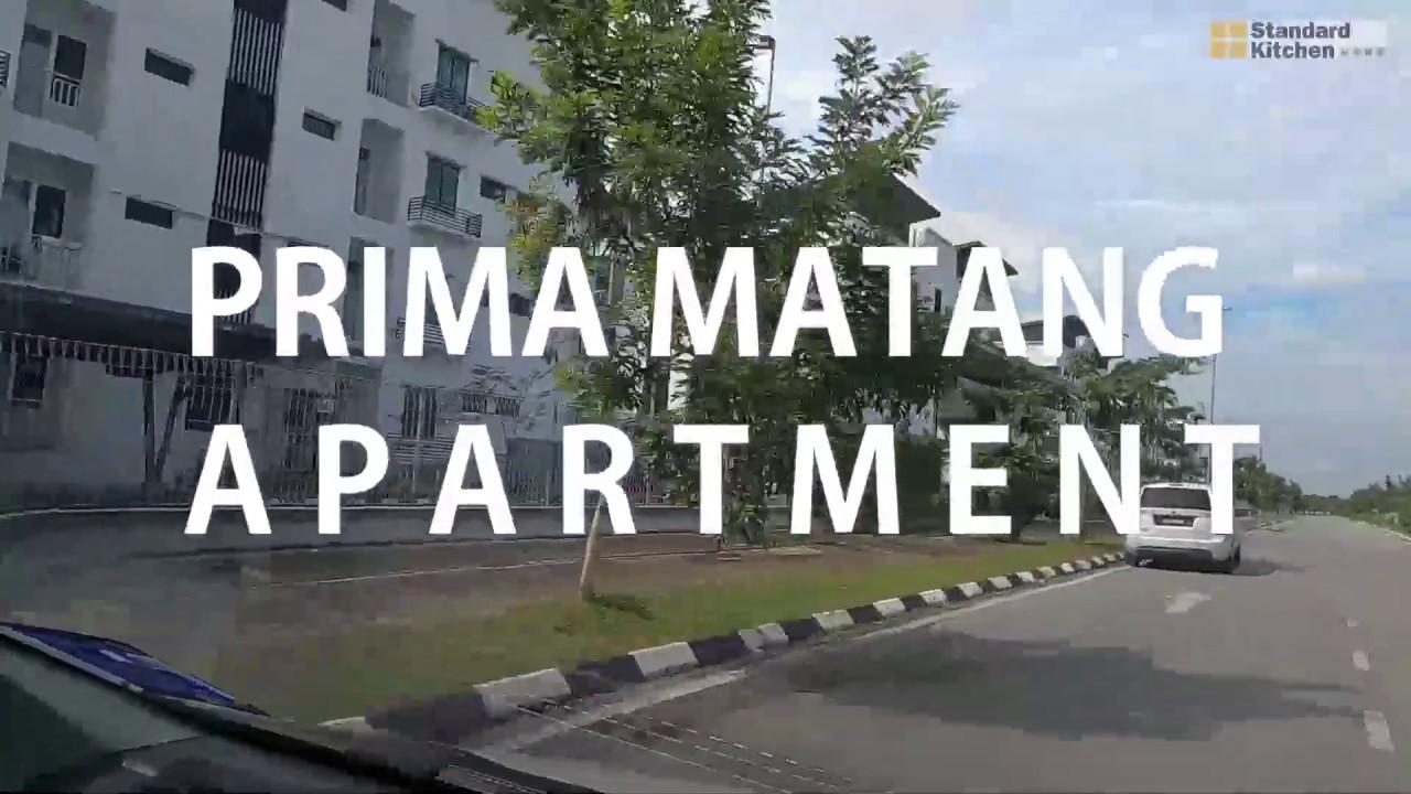 Prima Matang Apartment Standard Kitchen Kuching Youtube