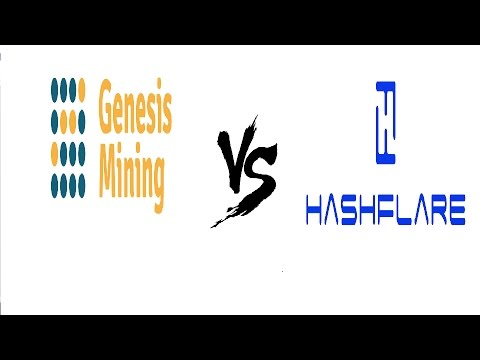 V9 - GENESIS MINING vs HASHFLARE - ROUND 1 - GENERAL COMPARISON