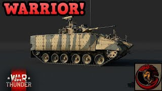 War Thunder | WARRIOR IFV ON DEV SERVER!!