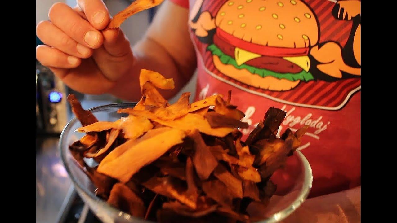 Niskokaloryczne Chipsy Z Batatów Kuchnia Jedz Co Chcesz