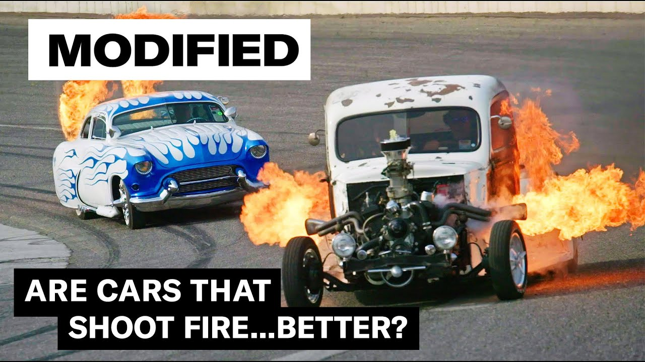 Flame-throwing hot rods | MODIFIED