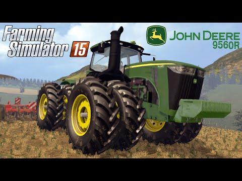 Farming Simulator 2015 mod tractor JOHN DEERE 9560R