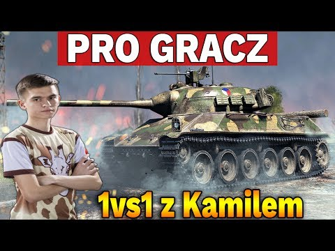 PRO GRACZ - 1vs1 z Kamilem #1 - World of Tanks