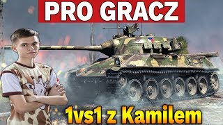 PRO GRACZ - 1vs1 z Kamilem #1 - World of Tanks