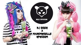 Dj Sisen x Mademoiselle Opossum behind the scenes