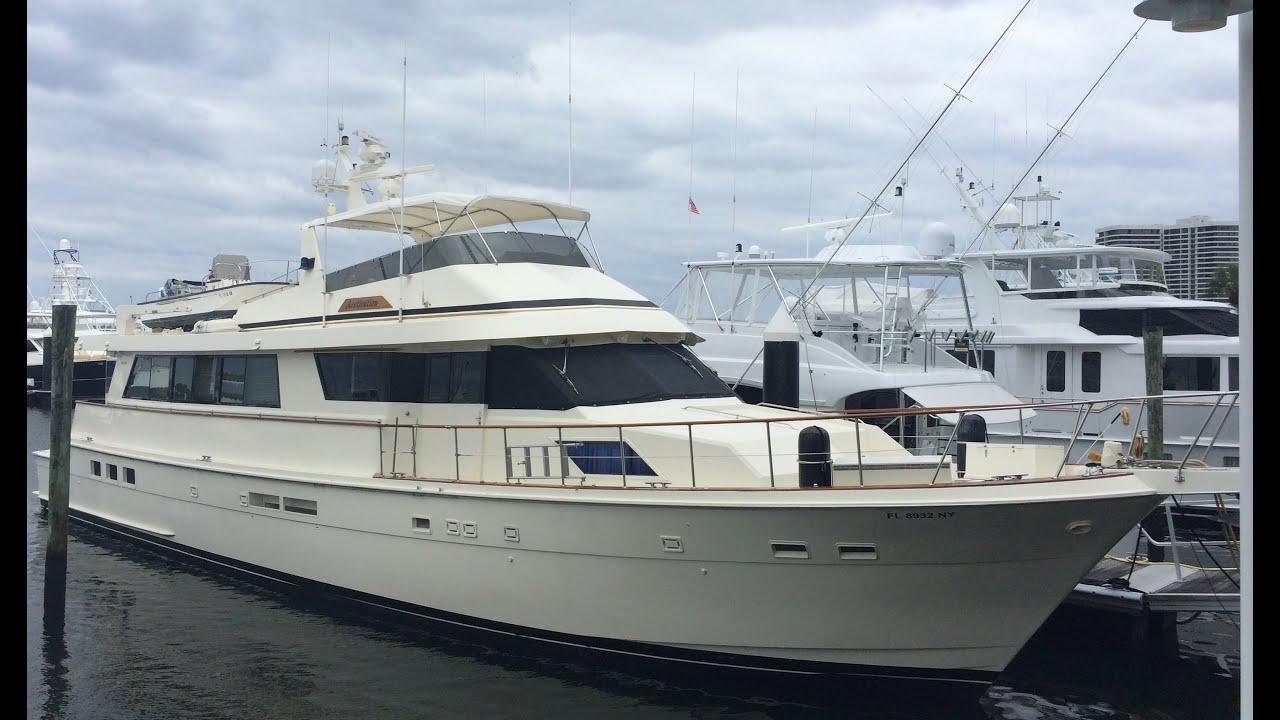 Sold 80 39 hatteras motor yacht aestivation bradford for 80 hatteras motor yacht