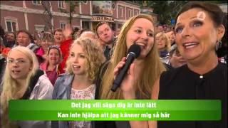 Jag vill vara din Margareta - Allsång - Lotta på Liseberg (TV4)