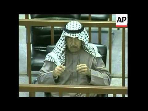 Iraq - Chemical Ali Among Those Sentenced To Death For Halabja Massacre