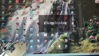 banggood eleksmaker elekscam latest software with latest firmware do