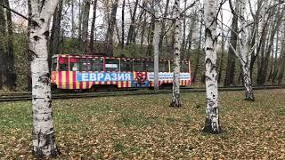 Трамвай. Немыслимые пермские сараюхи КТМ-5