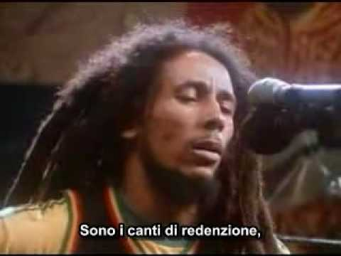 Bob Marley - Redemption Song  (Sottotitoli in Italiano)