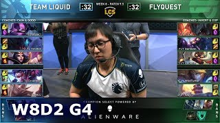 TL vs FLY | S9 LCS Spring 2019 Week 8 Day 2 | Team Liquid vs FlyQuest W8D2