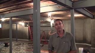 Custom Home Builder Tips - Basement Columns and Why - Divak Developers