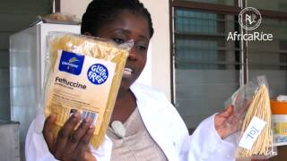 AfricaRice Recipe -- New rice-based products in Africa: Rice noodles