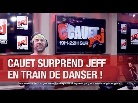 Cauet surprend Jeff en train de danser !  - C'Cauet sur NRJ