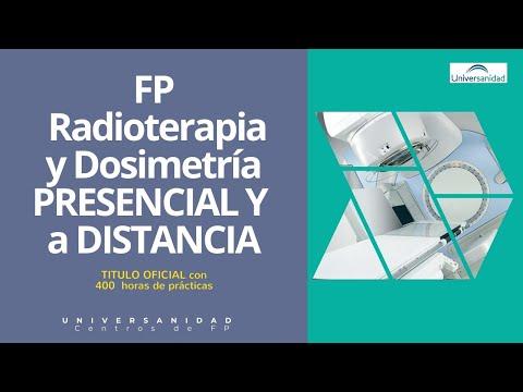 Grado Superior De Radioterapia Y Dosimetría A Distancia O