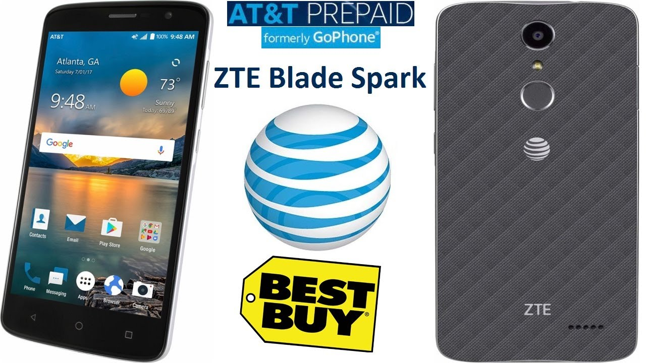 ZTE Blade Spark coming to AT&T Prepaid for $100, has a fingerprint sensor
