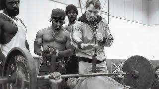 Arnold Schwarzenegger trains prisoners (very rare footage)