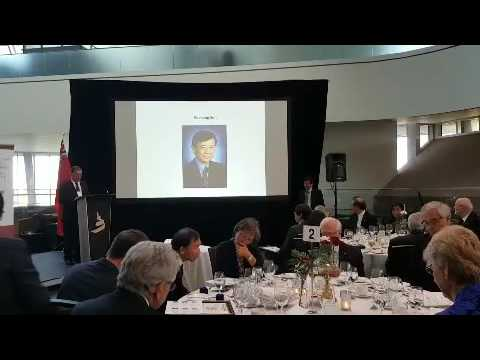 Ceremony of Canadian Academy of Engineering