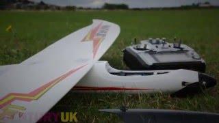 DARBRORC - Lightning 1500 Max-Thrust Powered Glider Hotliner