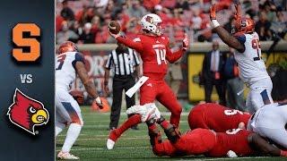 Syracuse vs. Louisville Football Highlights (2015)