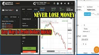 AUTOBOT MANUAL HIGH LOW TRADE | Easy Ways to Profit Dollars Quickly