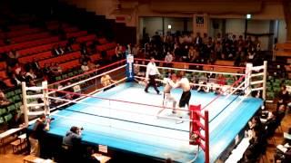 山梨県K.T.Tスポーツボクシングジム試合動画 樋口ひろし VS 矢部龍征 R4