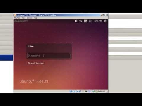 Install Ubuntu 14 04 LTS Desktop into VirtualBox