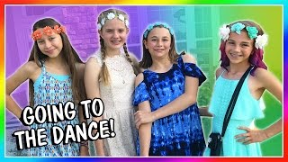 IT'S OUR END OF SCHOOL DANCE! | We Are The Davises