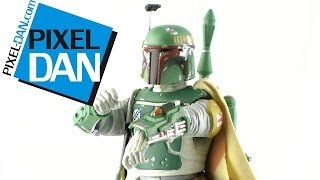 "Hasbro Star Wars Black Series 6"" Boba Fett Figure Video Review"