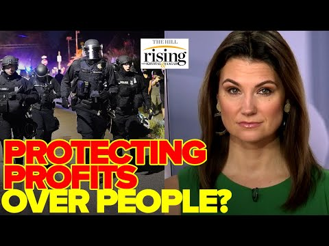 Krystal Ball: Police Guard Dumpster Of Food, Protecting Profits Over People