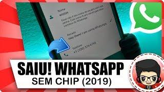 NOVO 2019! Como criar Número VIRTUAL para ativar whatsapp sem Chip - Método 100% FUNCIONAL