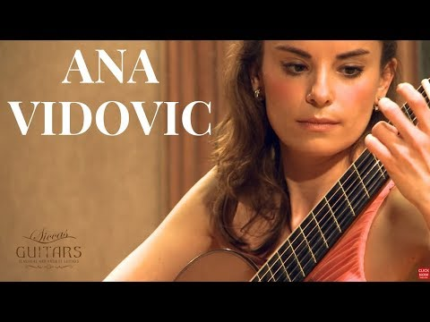 Ana Vidovic plays Yesterday Arr. Tōru Takemitsu  クラシックギター Beatles