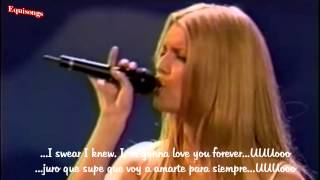 Jessica Simpson - I wanna love you forever (Subt Español e Ingles)