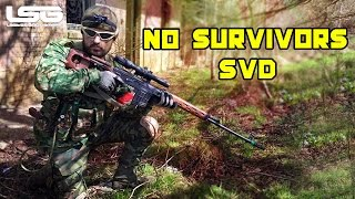 Airsoft - No Survivors WE SVD HPA / AK74