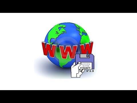 Amiga 1200 - Surfing the Web (Internet Browsing)