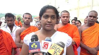He will send Amith Weerasinghe to politics, he says, because he is afraid of being threatened