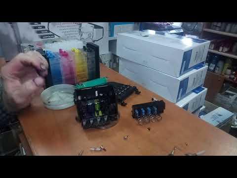 Лекция из мастерской: ремонт печатающей головки HP