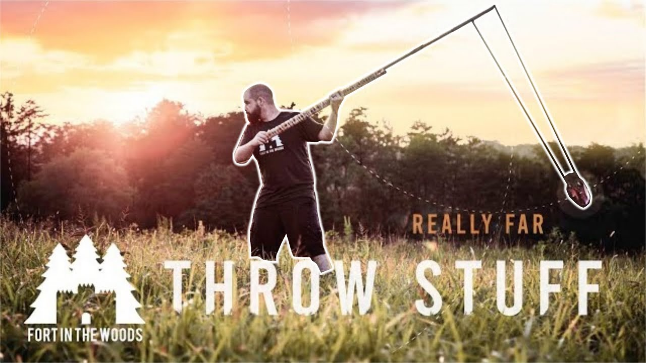 DIY Sling Staff | Making a Shepard's Staff Sling | Fort In The Woods | FITW