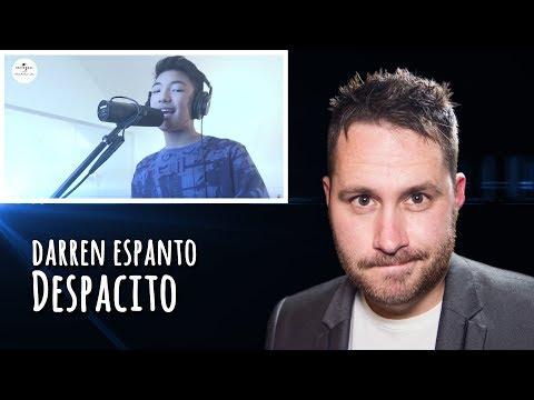 Darren Espanto - Despacito | REACTION
