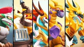 All Legend of Deus Legendary Dragons | Dragon City