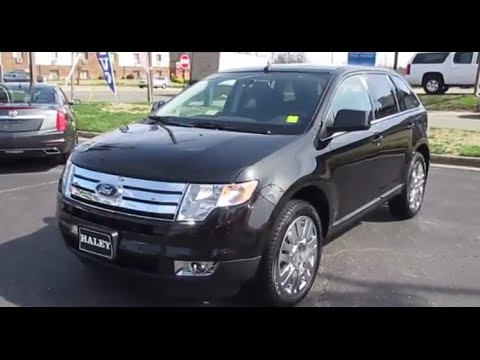 Ford Edge Limited Fwd Walkaround Start Up Tour And Overview